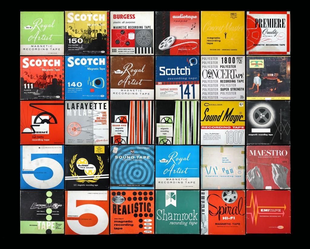 Jazz Loft Tape Boxes taken by Matthew Thompson