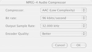 Final Cut Pro Audio Compressor Settings